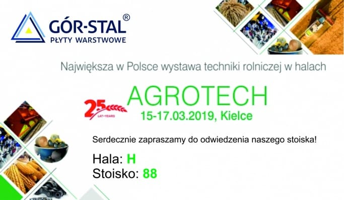 Let's meet at AGROTECH fair